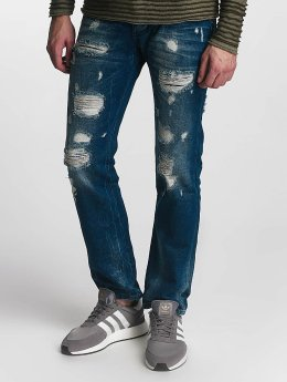 Red Bridge Straight fit jeans Hurricane blauw