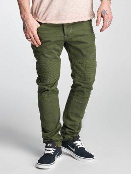 Red Bridge Straight fit jeans Sochumi groen