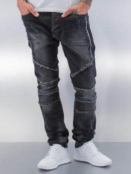 Red Bridge Straight Fit Jeans Crazy  schwarz