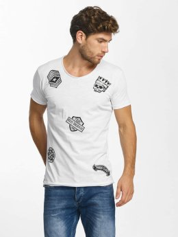 Red Bridge T-Shirt Noble Skull blanc
