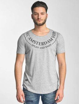 Red Bridge T-Shirt Amsterdam grau