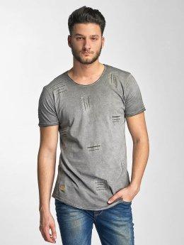 Red Bridge T-Shirt Stitched Seam grey