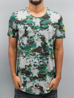 Red Bridge T-Shirt Combat grün