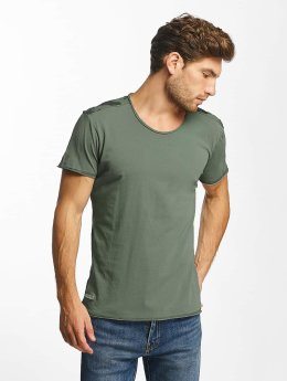 Red Bridge t-shirt Backing You Up khaki