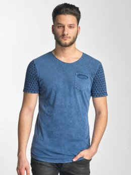 Red Bridge T-shirt long oversize Ribo indigo