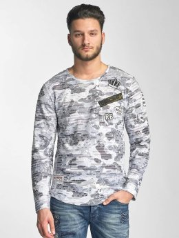 Red Bridge T-Shirt manches longues Combat gris
