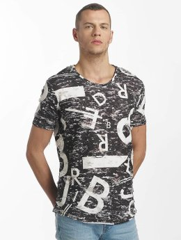 Red Bridge T-shirt Letters and Numbers nero