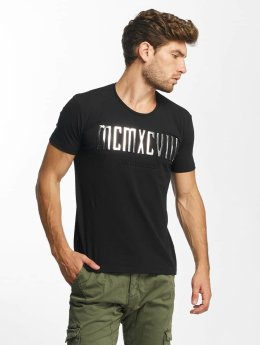 Red Bridge T-Shirt MCMXCIII Modern Characters noir
