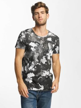Red Bridge Splatter Camo T-Shirt Black