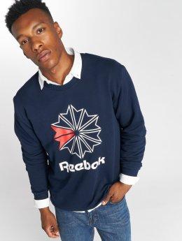 Reebok Пуловер AC FT Big Starcrest синий