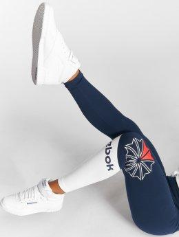 Reebok Legging Ac Logo bleu