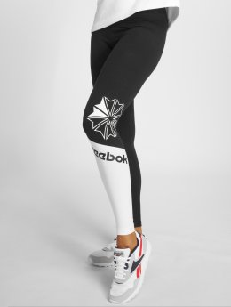 Reebok Leggings/Treggings AC Logo svart