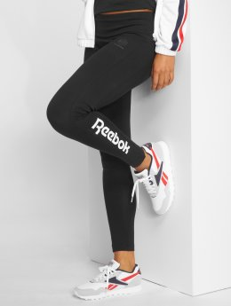 Reebok Leggings/Treggings F Logo svart