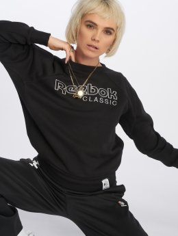 Reebok Swetry Ac Iconic Fl  czarny