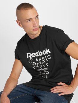 Reebok T-Shirt GP Unisex Long schwarz