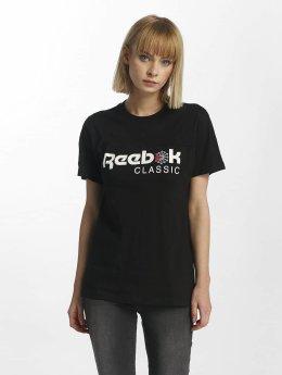 Reebok t-shirt F Classic zwart