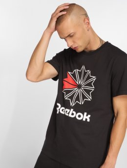 Reebok T-shirts F GR sort