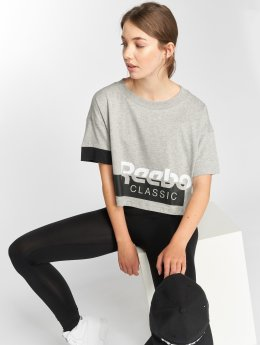 Reebok T-skjorter Ac grå