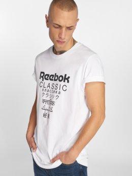 Reebok T-skjorter GP Unisex Longe hvit