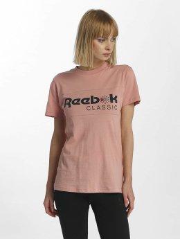 Reebok T-skjorter F Classic lyserosa