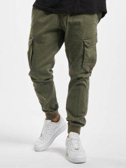 Reell Jeans Cargo pants Reflex Rib olivový