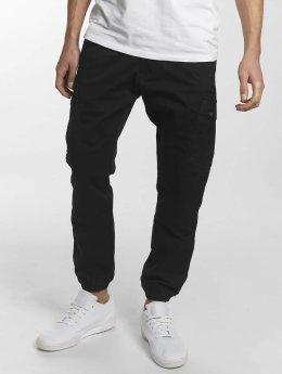 Reell Jeans Cargohose Jogger schwarz