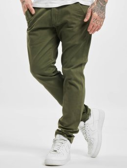 Reell Jeans Chinot/Kangashousut Flex Tapered oliivi