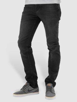 Reell Jeans dżinsy przylegające Spider czarny