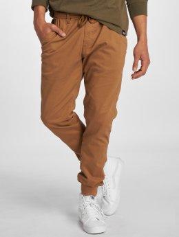 Reell Jeans Jogging kalhoty Reflex Rib hnědý