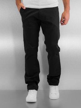 Reell Jeans Látkové kalhoty Straight Flex čern