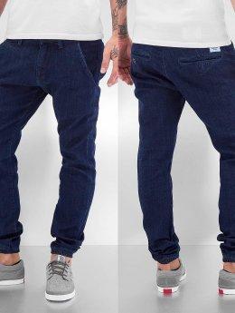Reell Jeans Pantalon chino Jogger bleu