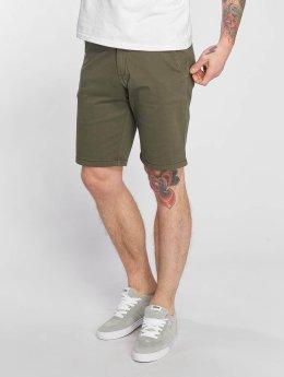 Reell Jeans shorts Flex Grip Chino olijfgroen