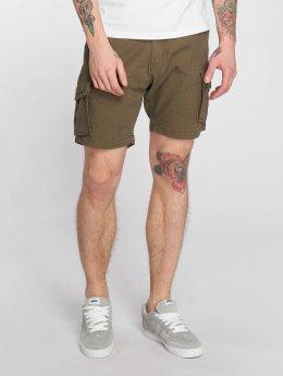 Reell Jeans shorts City Cargo olijfgroen