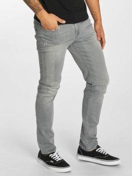 Reell Jeans Slim Fit Jeans Spider Slim šedá