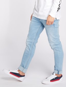 Reell Jeans Slim Fit Jeans Spider modrý