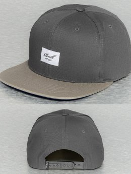 Reell Jeans Pitchout Snapback Cap Dark Grey/Light Grey