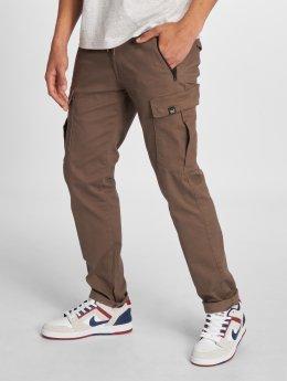 Reell Jeans Spodnie Chino/Cargo Tech Cargo Pants brazowy