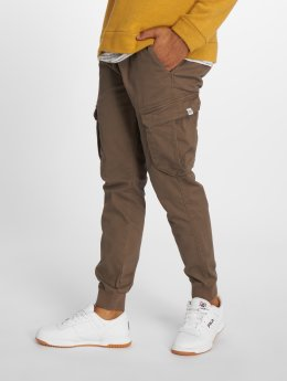 Reell Jeans Spodnie Chino/Cargo Reflex Rib brazowy