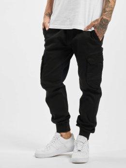 Reell Jeans Spodnie Chino/Cargo Reflex Rib  czarny