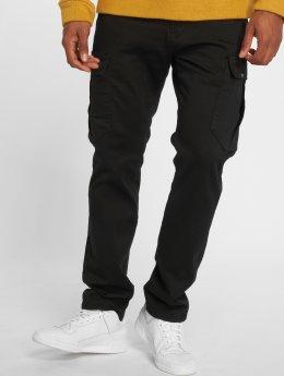 Reell Jeans Spodnie Chino/Cargo Tech czarny