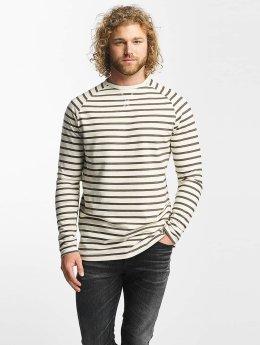 Reell Jeans Tričká dlhý rukáv Striped  biela