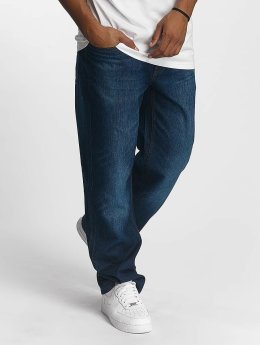 Rocawear Джинсы-трубы Loose Fit синий