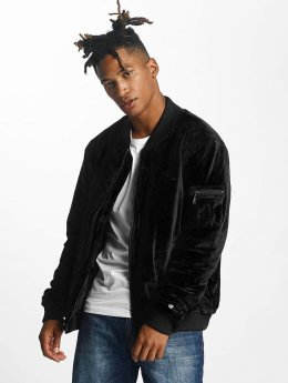 Rocawear Куртка-бомбардир Retro Velour черный