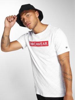 Rocawear Camiseta BrandLogo blanco