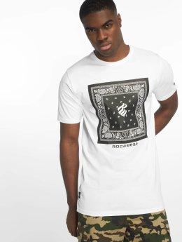 Rocawear Camiseta Bandana blanco