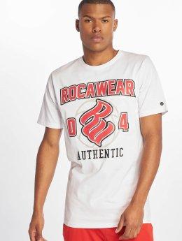 Rocawear Camiseta Authentic blanco