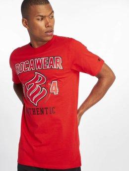 Rocawear Camiseta Authentic  rojo