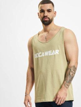 Rocawear Débardeur Color Block kaki