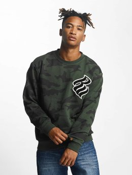 Rocawear Gensre Retro Army Crew Neck  oliven