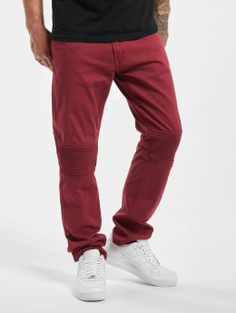 Rocawear Jean coupe droite Quilted rouge
